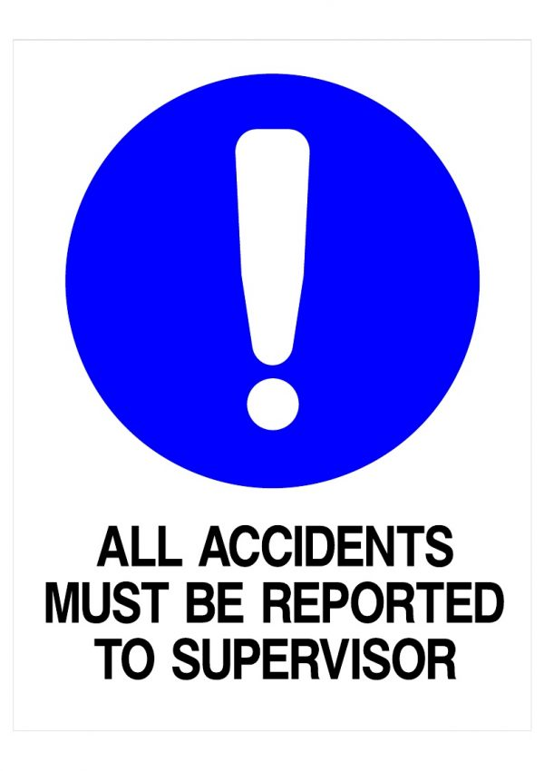 ALL ACCIDENTS REPORTED