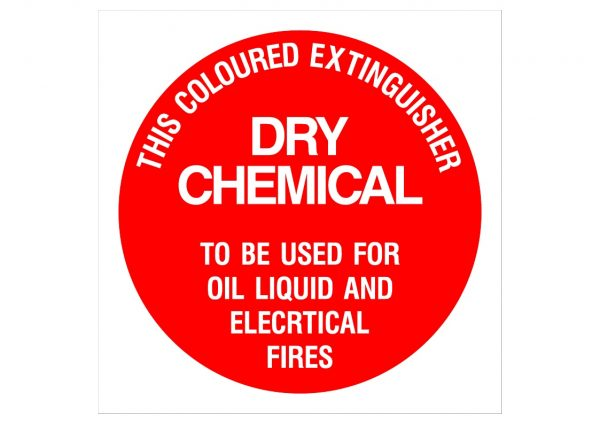DRY CHEMICAL EXTINGUISHER