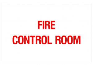 FIRE CONTROL ROOM
