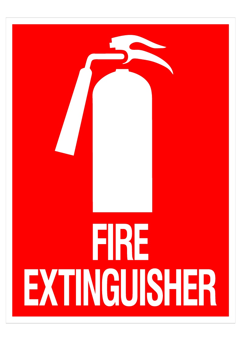 Fire Extinguisher Symbol Swift Signs