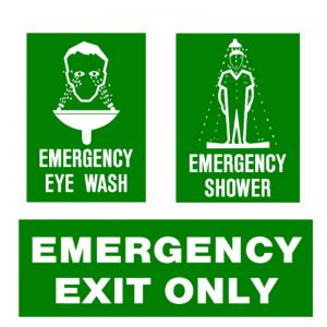 FIRST AID & EMERGENCY SIGNS