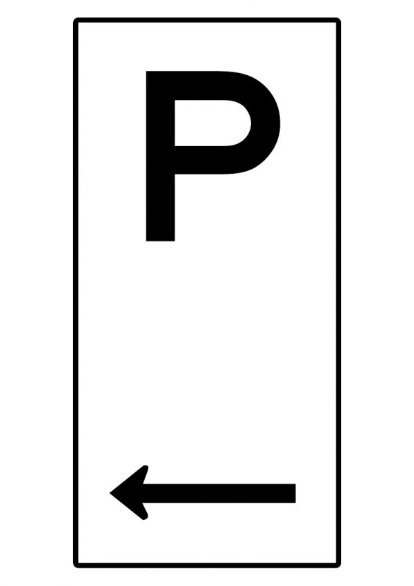 PARKING LEFT ARROW