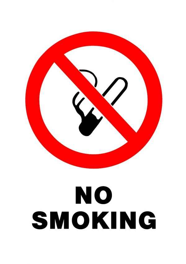 PROHIBITED NO SMOKING
