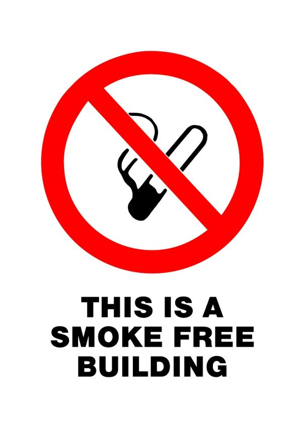 PROHIBITED SMOKE FREE
